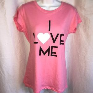 """Wound Up shirt top """"I Love Me"""" New from Forever 21"""